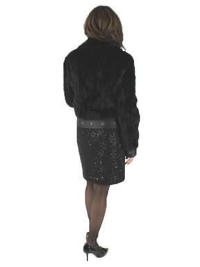 Ranch Mink Fur Jacket w/ Leather