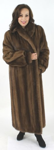 Full Length Lunaraine Mink Fur Coat
