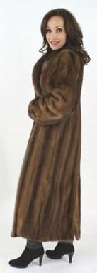 Full Length Lunaraine Mink Fur Coat