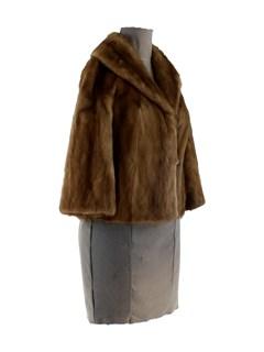 Autumn Haze Mink Jacket