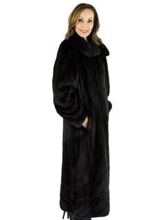 Gorski Woman's Brown Scanglow Mink Fur Coat