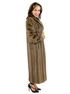 Autumn Haze Mink Coat
