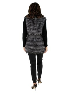 New woman's Grey Mink Vest