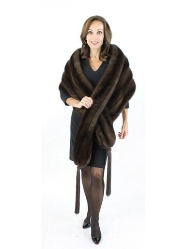 Mink Fur Wrap