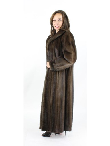Mink Fur Coat - Women's Large