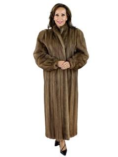 Pecan Mink Coat