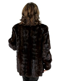 Mahogany Mink Section Jacket