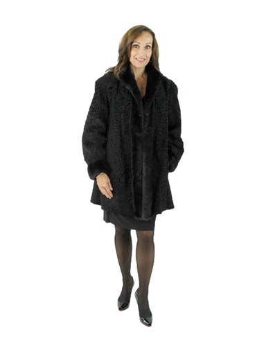 Broadtail Ranch Mink Fur Stroller