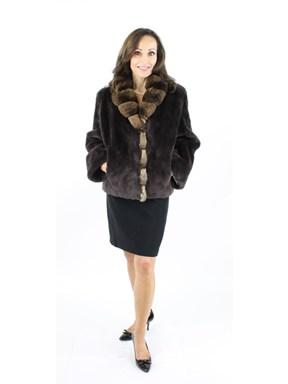 Sheared Beaver Fur Jacket