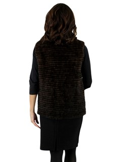 New Woman's Scanbrown Mink Vest