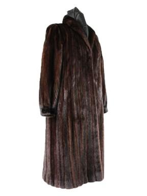 Full Length Mink Fur Coat
