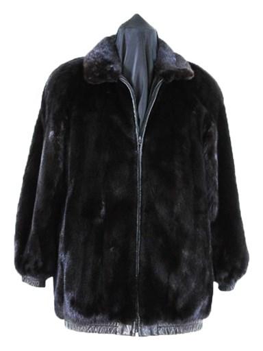 Ranch Mink Fur Reversible Jacket