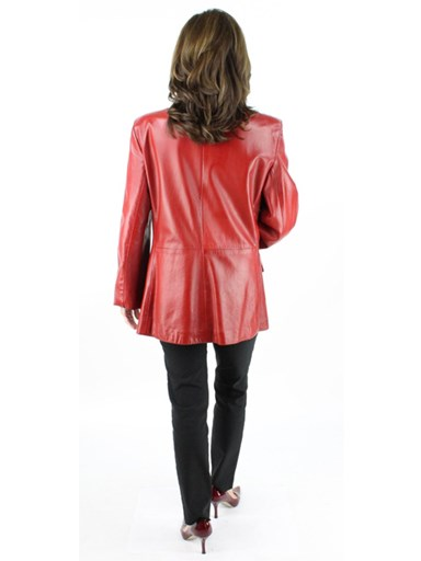 Ultra Soft Lambskin Blazer