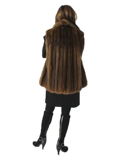 Natural Sable Fur Vest