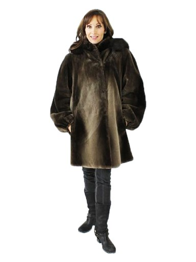 Phantom Sheared Beaver Fur Parka
