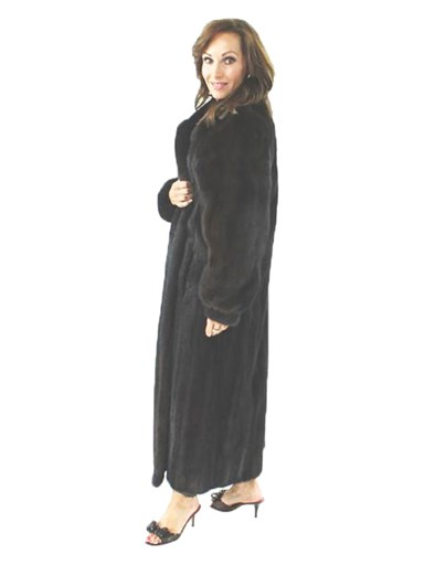 Classic Ranch Mink Fur Coat