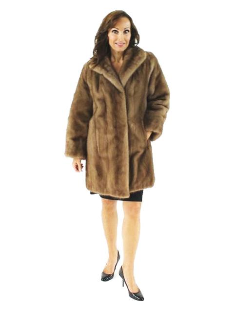 Woman's Lunaraine Mink Fur Stroller