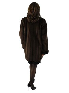 Sheared Mink Fur Stroller