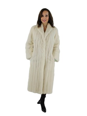 Tourmaline Mink Fur Coat