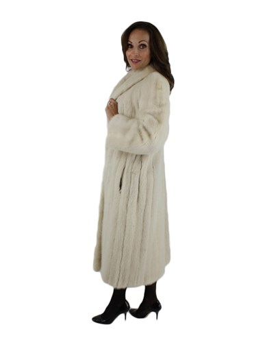Tourmaline Mink Fur Coat