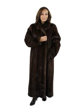 Mink Fur Coat - Women's XLarge