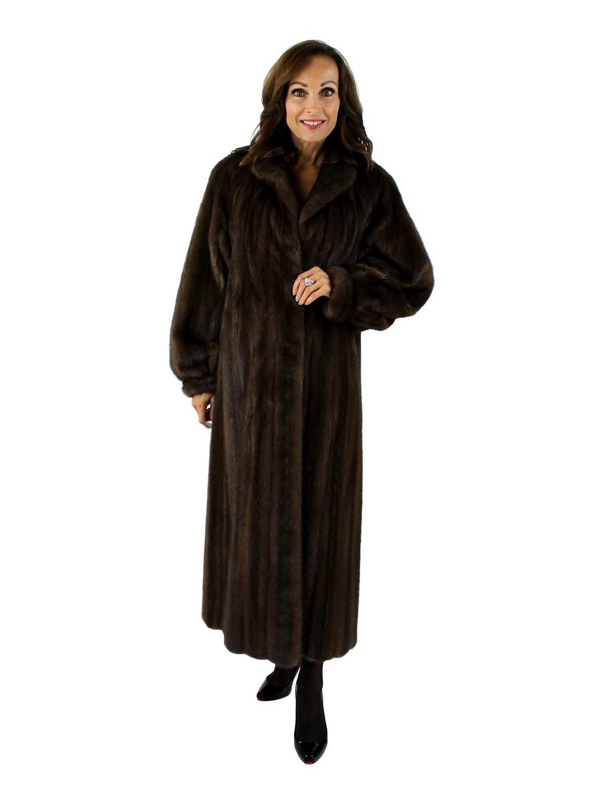 Woman's Lunaraine Female Mink Fur Coat