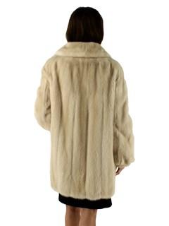 Woman's Classic Tourmaline Mink Fur Stroller