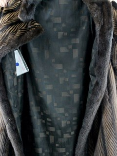 Woman's Mahogany and Lunaraine Mink Fur Coat