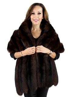 Woman's Sable Fur Stole