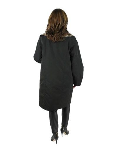 Fabric Stroller w/ Lapin Fur
