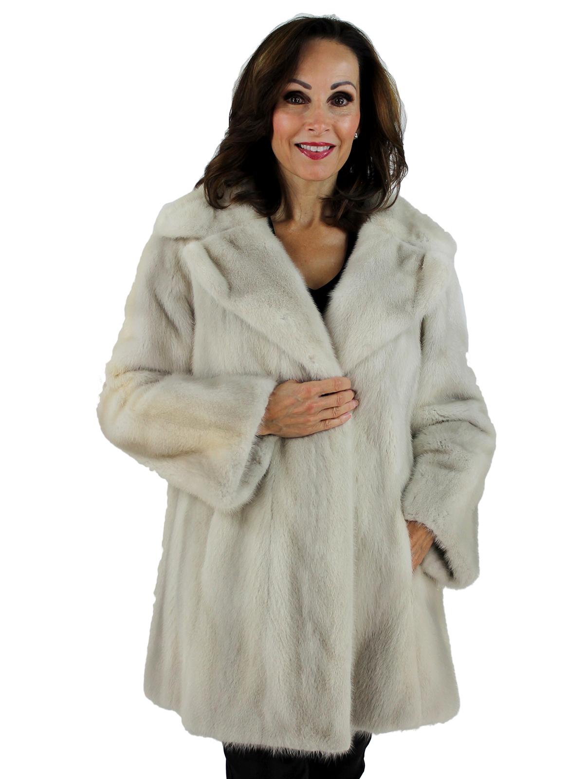 Woman's Azurene Mink Fur Stroller