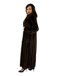 Light Mahogany Mink Coat