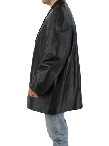 Italian Lamb Leather Blazer