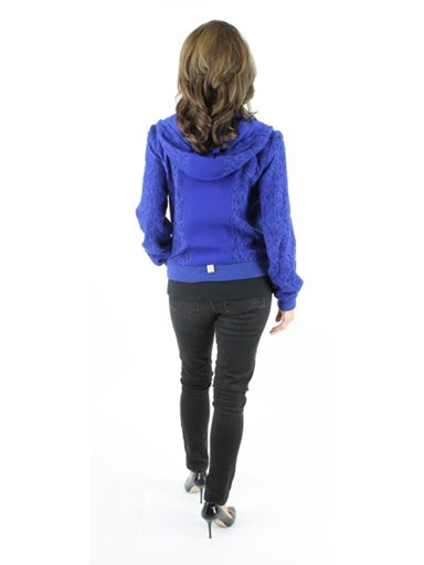 Fabric Zipper Jacket