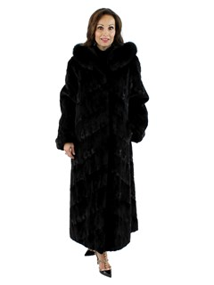 Ranch Mink Section Coat