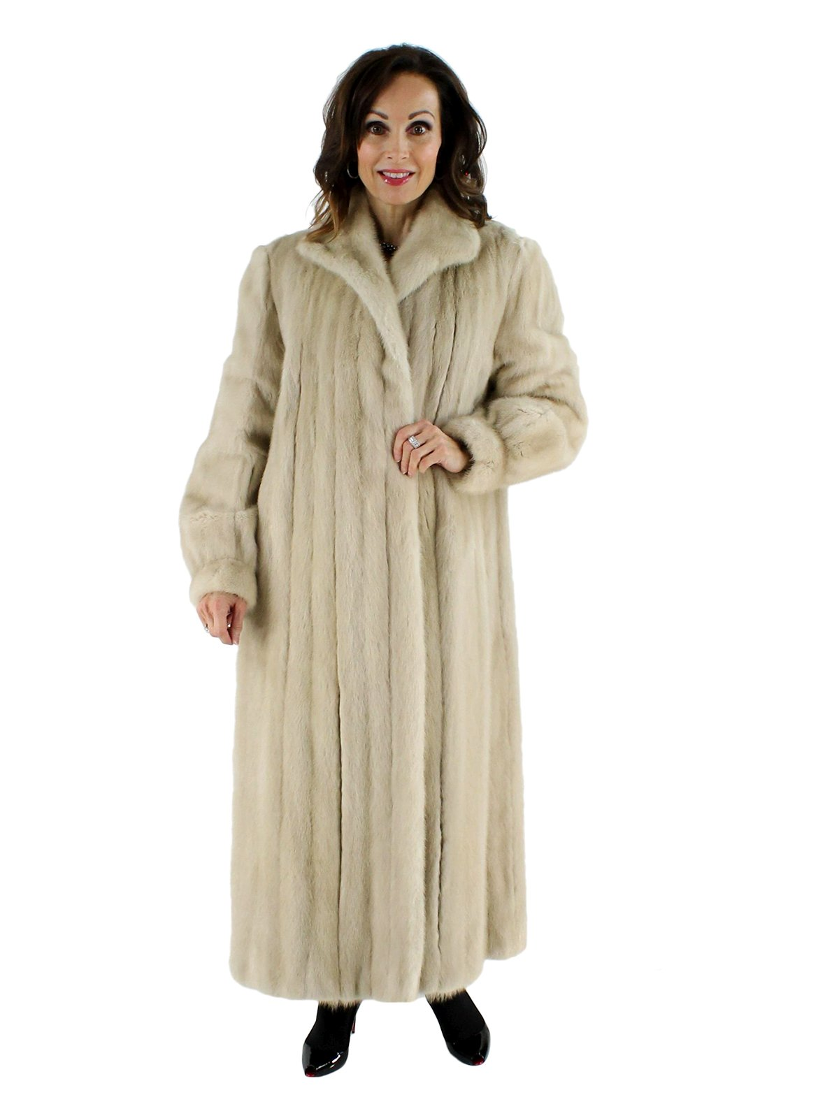 Tourmaline Mink Coat