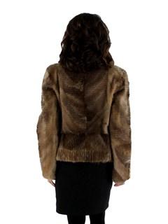 Sheared Muskrat Jacket