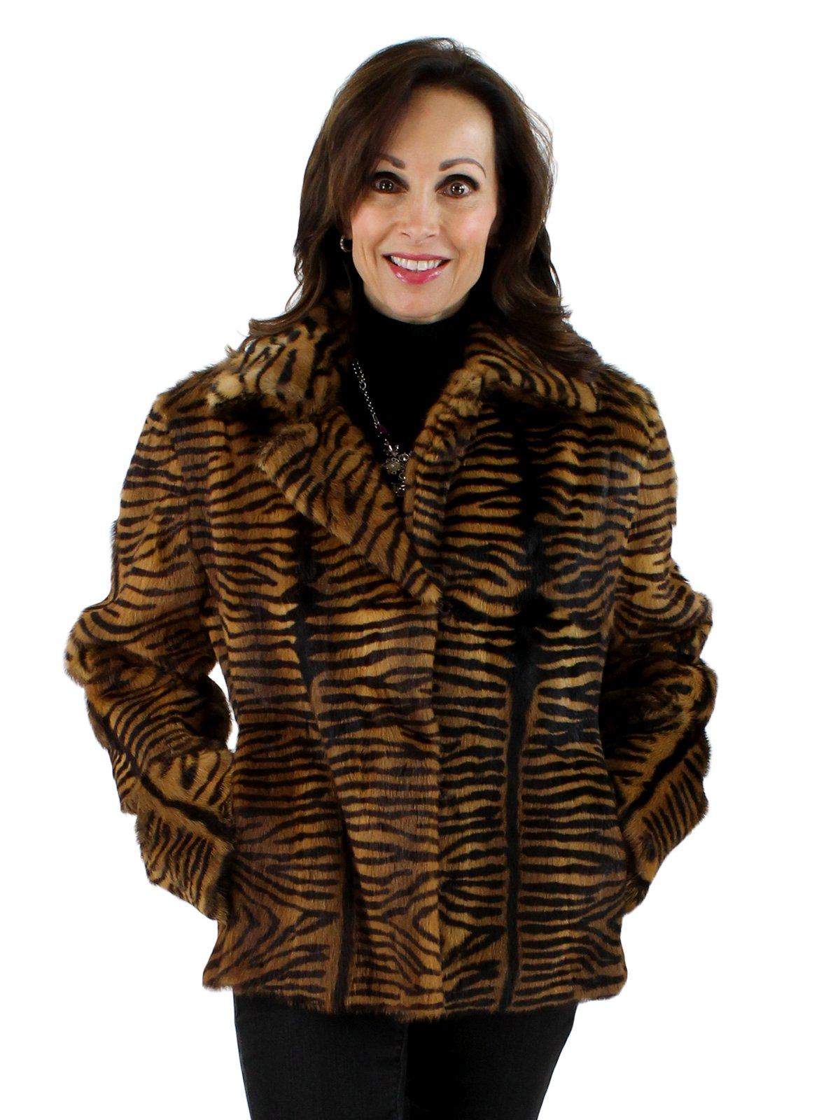 Tiger Print Calf Jacket