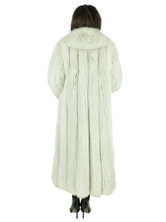 Woman's Blush Fox Fur Coat