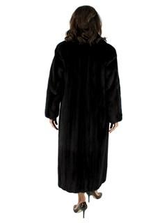 Petite Female Ranch Mink Fur Coat