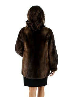 Woman's Otter Fur Jacket