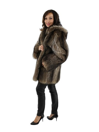 Raccoon Fur Jacket