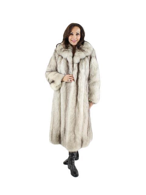 Cross Fox Fur Coat Women S Small Estate Furs