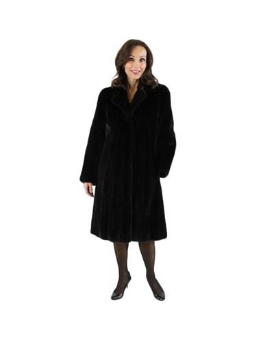 Ranch Mink Fur 7/8 Coat