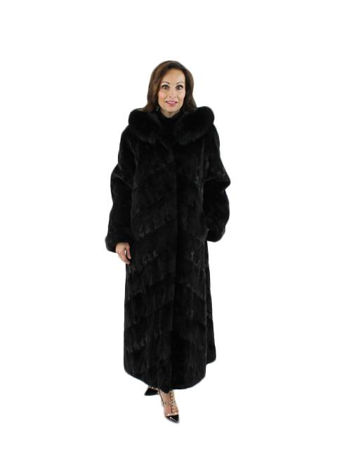 Ranch Mink Section Coat