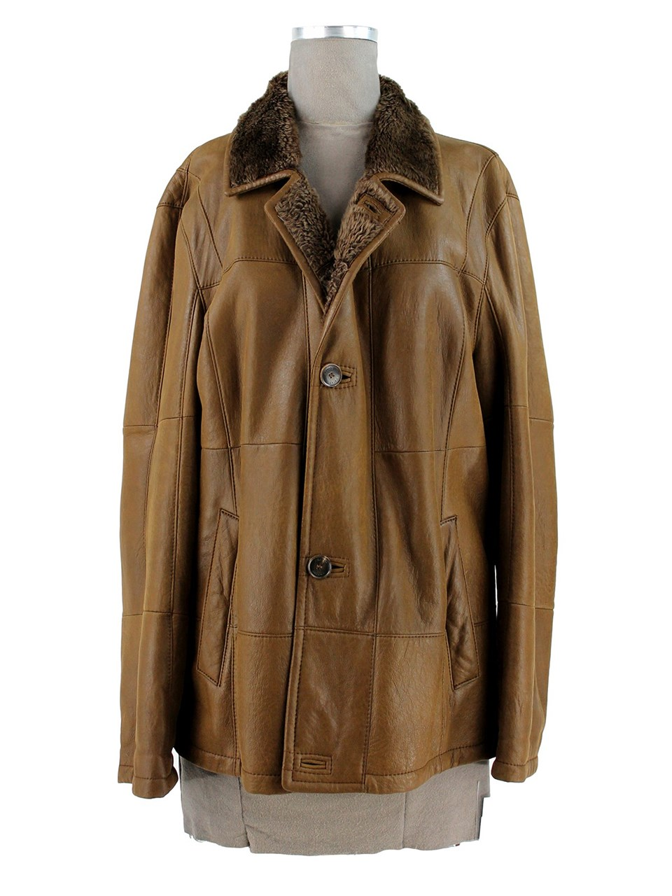 Man's Christ Chocolate Shearling