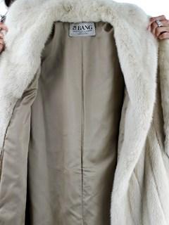 Woman's Tourmaline Mink Fur Coat