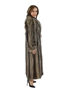 Woman's Raccoon Fur Coat