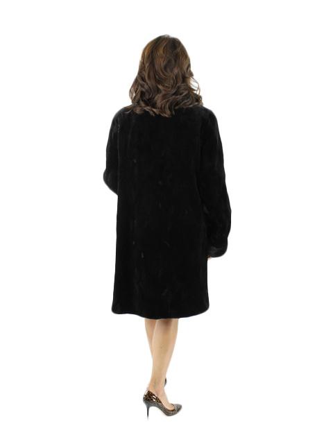Dark Brown Sheared Mink Stroller
