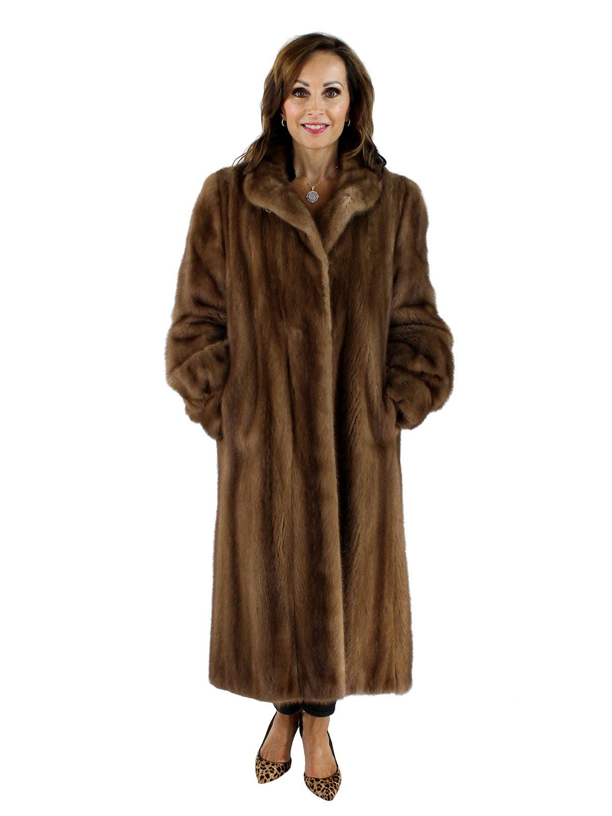 Pastel Mink Coat